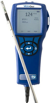 TSI/Alnor 9565 Multi-Function Thermo-Anemometer with Straight Probe.