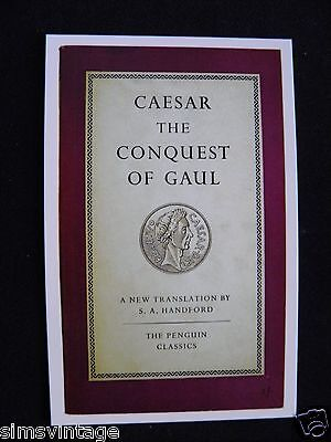Penguin Book Cover Postcard Caesar The Conquest Of Gaul S A Handford Translation