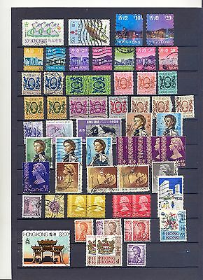 Hong Kong old Stamp  look scan     Lot