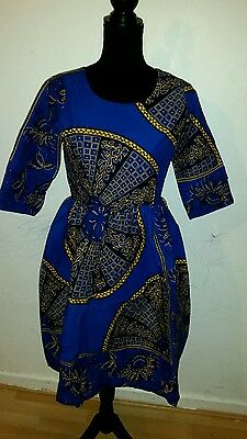 African print dress available in size 10 and 12 U.K