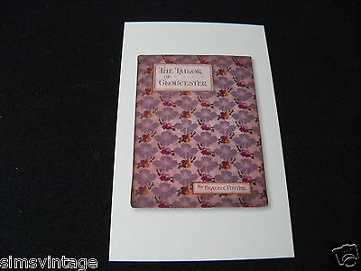 Beatrix Potter Postcard Book Cover of The Tailor of Gloucester [BP31795]