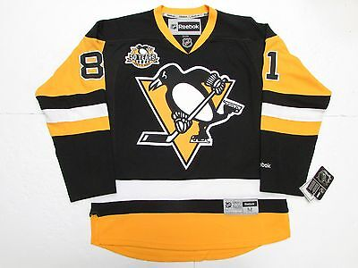 PHIL KESSEL PITTSBURGH PENGUINS HOME 50th ANNIVERSARY REEBOK PREMIER JERSEY cc1fc1e38
