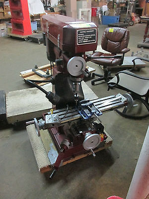 Milling Machine Bench Vertical by Central Machines