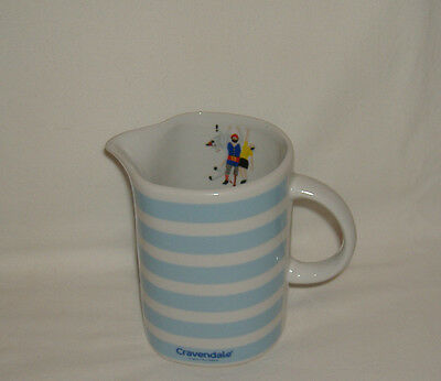 Cravendale Striped Half Pint Milk Jug - Collectable