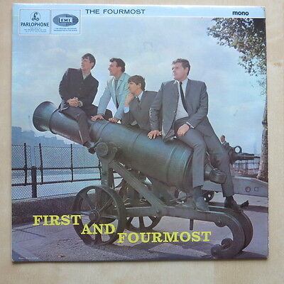 THE FOURMOST First And Fourmost UK 1st press mono LP Parlophone PMC 1259 Ex