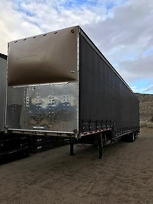 2003 Western Elite 53'Curtain Side Drop Deck Trailer