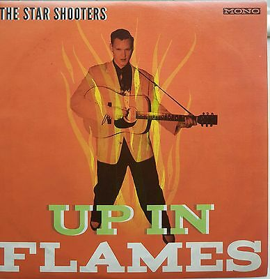 The Star Shooters Ep -Up In The Flames-Great Rockabilly New German Band 4 Tracks