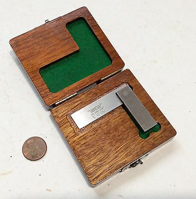 "Lufkin Rule Co. 1 1/2"" No.166-1 1/2"" Machinists Try Square With Box"