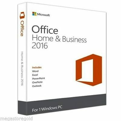 Microsoft Office 2016 Home and Business - Licence - français - Europe