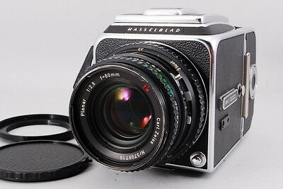 Hasselblad 500C/M early model w/Planar C 80/2.8 T* [Exc+] #414