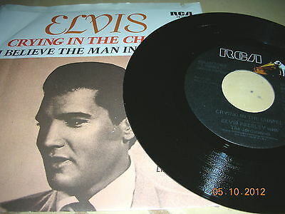 Elvis Presley - Crying In The Chapel / I Believe The Man In The Sky
