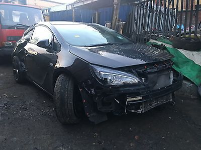 Vauxhall Astra Gtc, 1.4 Turbo, 2014 (64 Plate), 6 Speed, Breaking For Spares