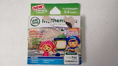 LeapFrog Team Umizoomi Mathematics Learning Game for LeapPad/LeapsterGS