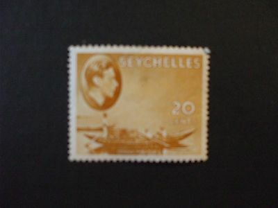 SEYCHELLES.-1938 KGVl Issue 20C Yellow Part Set of 1vs MH Cat 475.00 (2P)