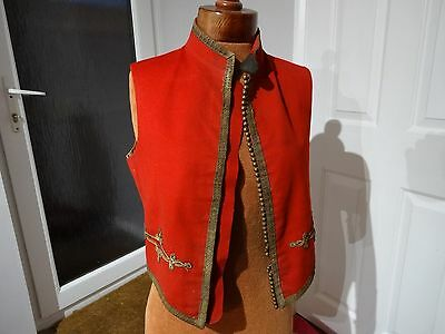 Victorian Officers Mess Uniform British Army Waistcoat Kit Old Vintage Infantry