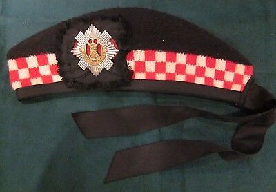The Royal Scots Glengarry Cap and Badge WW2