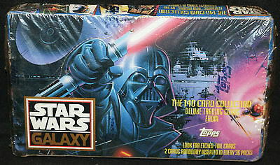 Star Wars Galaxy Deluxe Trading Cards Box by TOPPS (Sealed) 1993