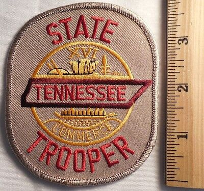 Tennessee State Trooper Patch (Highway Patrol, Sheriff, Ems)