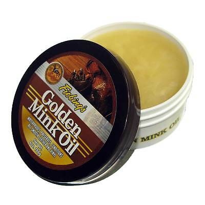 Fiebing's Golden Mink Oil Leather Preserver Leather Care and Treatment