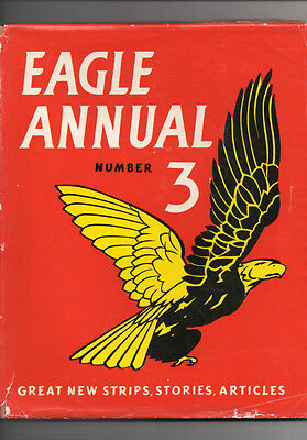 Hulton Press  - Eagle Annual - No 3 - 1953 - DUST JACKET!!!