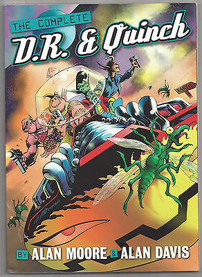 THE COMPLETE D.R. & QUINCH BY ALAN MOORE & ALAN DAVIS 2000AD 1st PRINT 06/2010