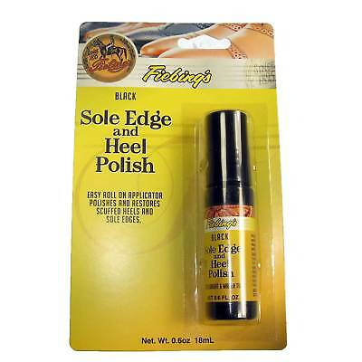 Fiebing's Sole Edge and Heel Polish - Black and Brown