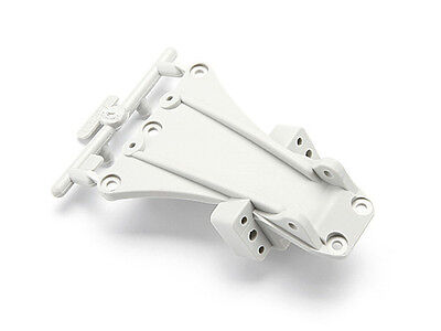HPI High Performance Front Chassis Brace (White) - Blitz - 104664