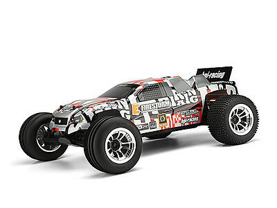 HPI Dsx-2 Truck Painted Body (Orange/Silver/Black) - E-Firestorm Flux