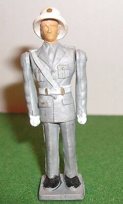 ATHENA,AOHNA, 60mm scale,GREEK TRAFFIC POLICEMAN,pith helmet - in good condition