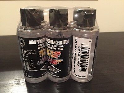 Wicked Airbrush Paint - 6 x Wicked Reducer W500 / 4012 - 60ml - Bulk deal
