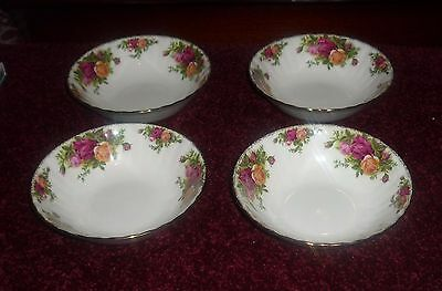 Royal Albert Old Country Roses Bowls Set Of Four