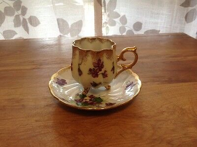Antique Napco Demitasse Cup and Saucer