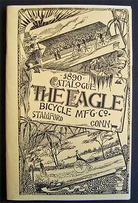1890 EAGLE BICYCLE Manufacturing Co CATALOG of antique BIKES brochure