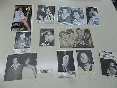 Diana Ross  lot of clippings #303