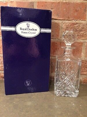 ROYAL DOULTON Finest Crystal Decanter