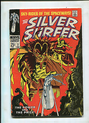 Silver Surfer #3 (6.0) 1St Mephisto Key Issue!