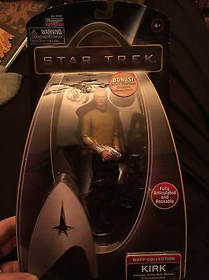 Star Trek Captain Kirk Figure Wharp Collection BNIB
