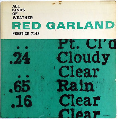 """ALL KINDS OF WEATHER Red Garland Chambers Taylor Prestige 7148 """"RVG"""" Very Good+"""