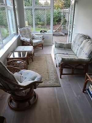 ANGRAVE'S CANE CONSERVATORY FURNITURE - 6 Pieces