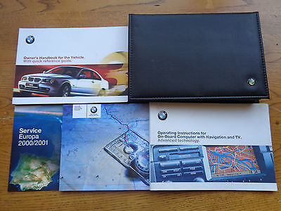 BMW 3 Series Coupe Owners Handbook/Manual and Pack 99-03