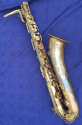 Vintage The Martin Bari Baritone Sax Saxophone with Neck for Parts or Repair