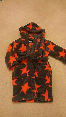 Boys Mini Boden dressing gown age 3-4