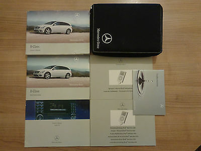 Mercedes Benz R Class Owners Handbook/Manual and Wallet 06-09