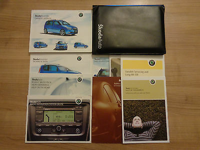 Skoda Roomster Owners Handbook Manual and Pack 06-10