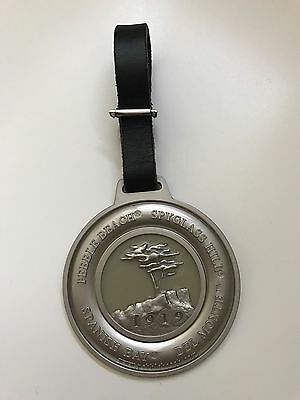New! Authentic Pebble Beach golf tag