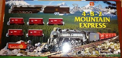 President's Choice Train Set #5 - 4-8-2 Mtn Express - FREE SHIPPING - New, Mint