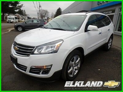 2016 Chevrolet Traverse LTZ All Wheel Drive Navigation not 2015 or 2014 LTZ All Wheel Drive 17000 miles 2nd Row Buckets Navigation Htd/Vented Seats