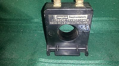 crompton current transformer ratio 60:5a cat 802-943U-nwls