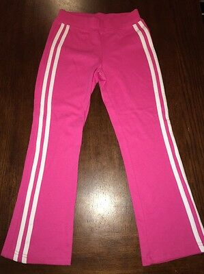 Double Scoop 7 Sweatpants Girls Size 6X Pink/white NWOT