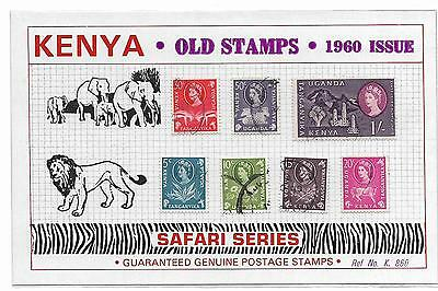 Three packets of Old Stamps, KENYA
